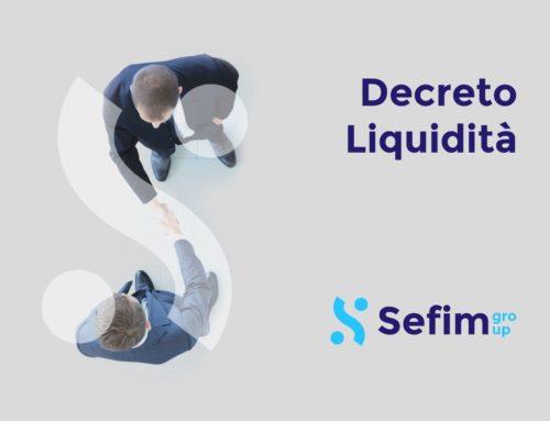 Decreto Liquidità e finanziamenti fino a 25 mila euro